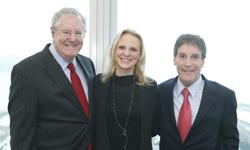 Steve Forbes, Billie Resnick and John M. Resnick