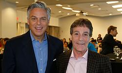 Jon Huntsman, Jr and John Resnick